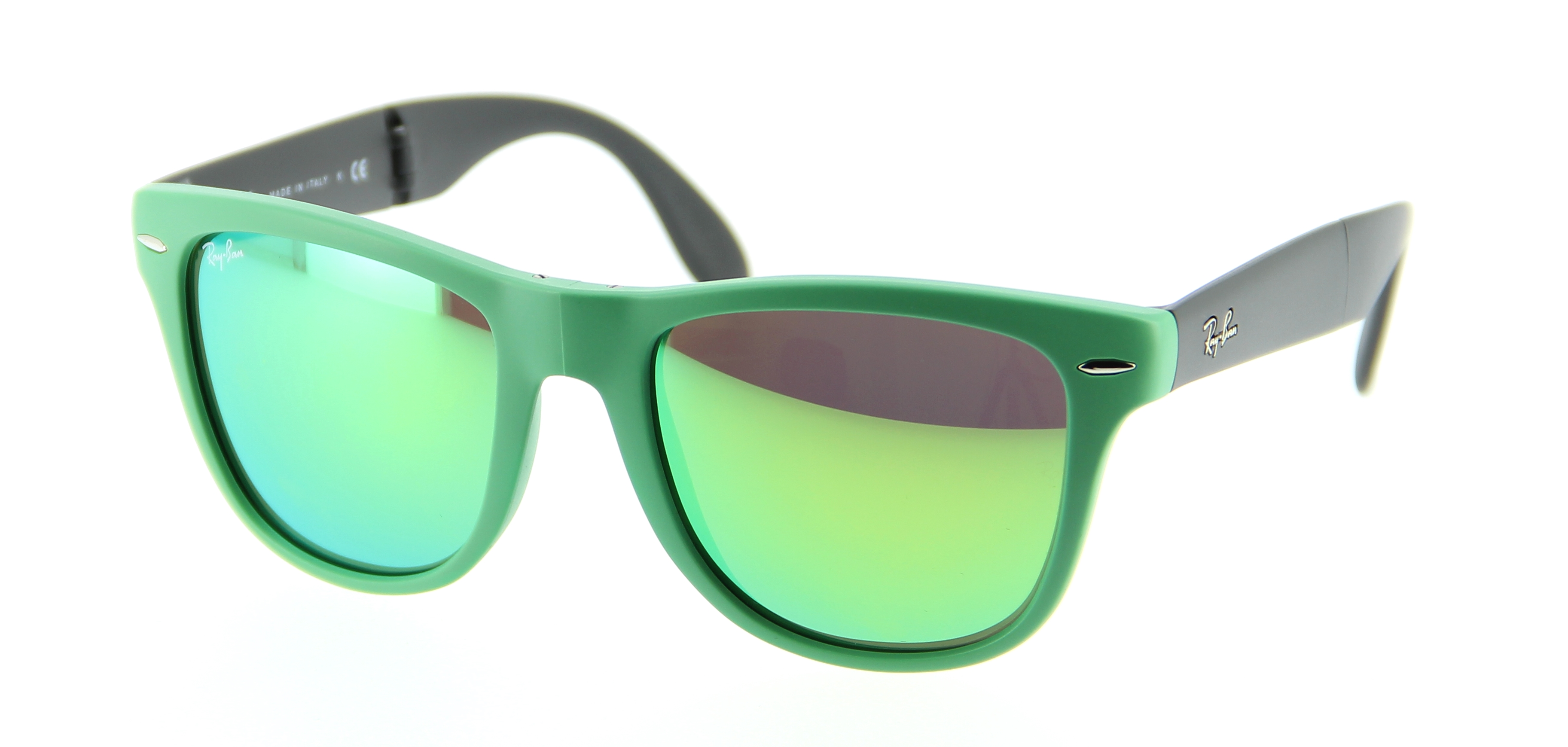 faa8deeff4bac ray ban vert